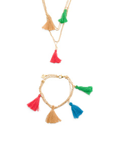 Multi Color Tassel Collection