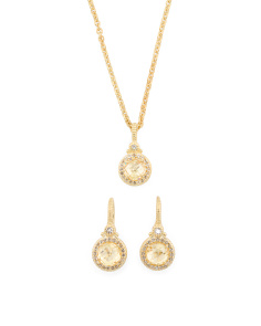 La Petite Canary Crystal And White Topaz Collection