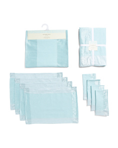 Chambray Table Linen Collection