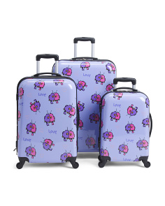 Hardside Love Birds Luggage Collection