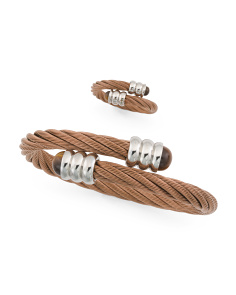 Celtic 88 Bronze Cable And Tigers Eye Collection