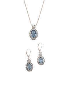 Sterling Silver Swarovski Crystal Beaded Knot Collection