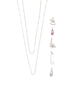 Sterling Silver Build Your Own Baby Necklace Collection