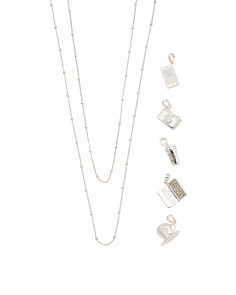Sterling Silver Build Your Own Blogger Necklace Collection