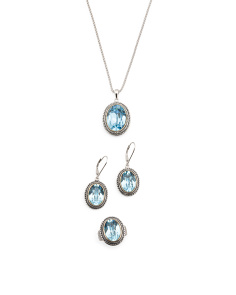 14k Gold And Sterling Silver Swarovski Crystal Collection
