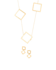 Made In Bali 14k Gold Plated 925 Silver Geometric Collection