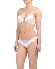 Merveille Push Up Bra And Thong Collection