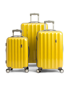 Yellow Titan Expandable Luggage Collection