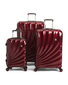 Wine Red Pagoda Luggage Collection