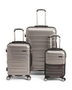 Silver Nema Luggage Collection