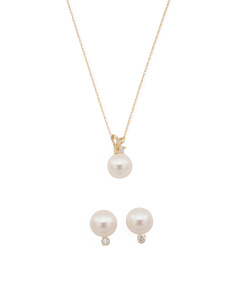 14k Gold Diamond And Pearl Collection