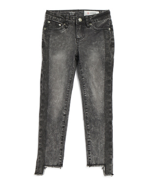 Big Girls Pieced Slim Straight Jeans