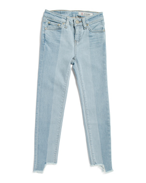 Big Girl Remake Slim Straight Jeans