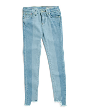 Toddler & Little Girls Slim Straight Jeans