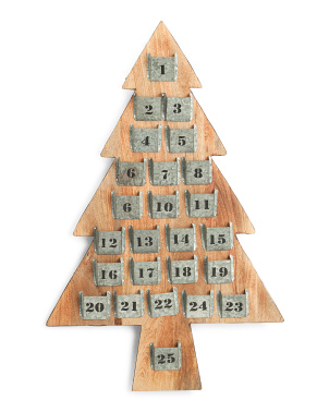 23x36 Advent Tree