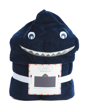 Little Shark Hoody Towel