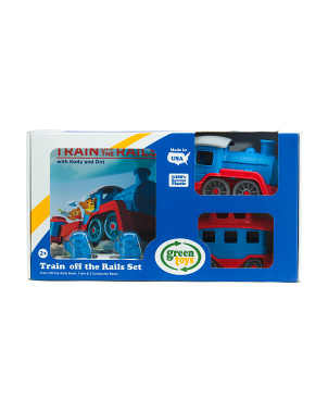 Train Off The Rails Gift Set With Book