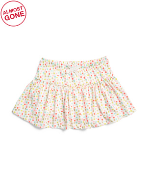 Little Girls Polka Dot Skort