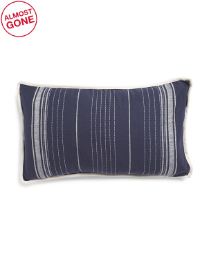 16x28 Striped Pillow