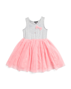 Little Girls Kitty Tutu Dress