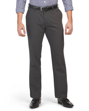 Standard Stretch Clean Khaki Pants