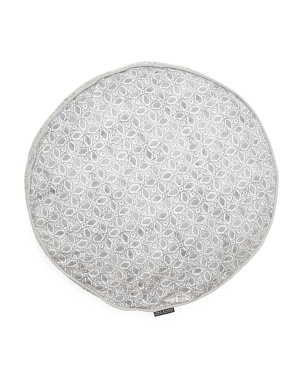 Zoe Tile Mini Round Dog Bed