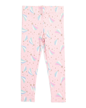 Girls Shooting Star Leggings
