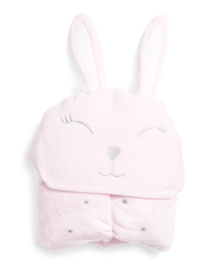 Bunny Hooded Throw