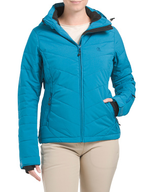 Stretch Insulated Ski Jacket