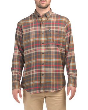 Plaid Fireside Flannel Shirt