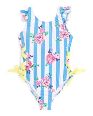 Toddler & Little  Girls Rose One-piece Swimsuit