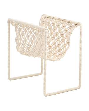 Macrame Document Holder