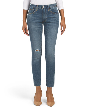 Sienna Cropped High Rise Jeans