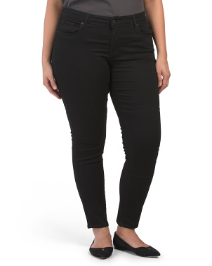 Plus 711 Blackened Skinny Jeans