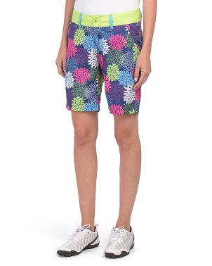 Printed Golf Shorts
