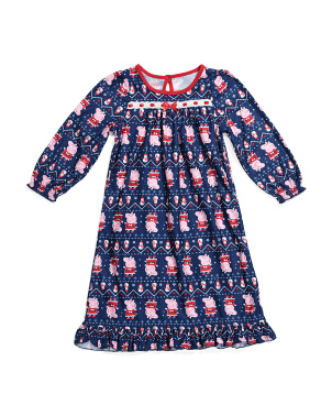 Toddler Girls Peppa Pig Sleep Gown