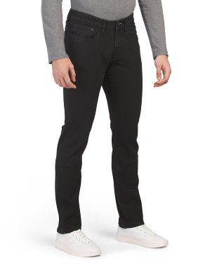 Stretch Super Soft Slim Straight Leg Jeans