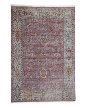Made In Turkey 5x7 Transitional Medallion Area Rug