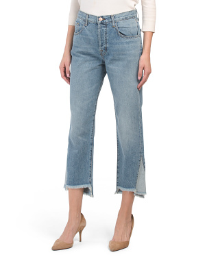 Wynne High Rise Straight Leg Jeans