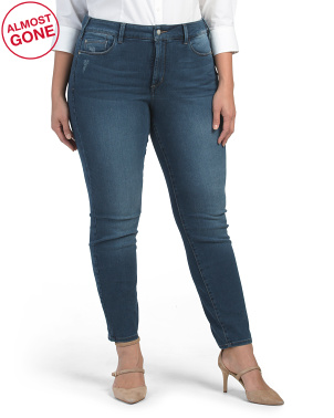 Plus Uplift Alina Stretch Skinny Jeans
