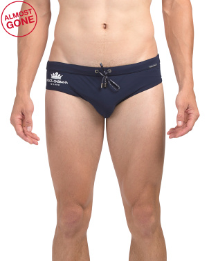 Made In Italy Swim Briefs
