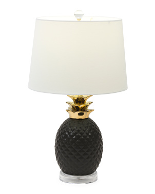 Ceramic Pineapple Table Lamp