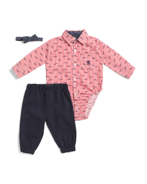 Infant Boys 3pc Jogger Set