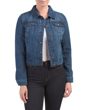 Juniors Basic Denim Jacket