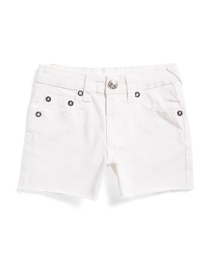 Toddler & Little Girls Boyfriend Shorts