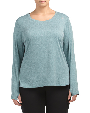 Plus Active Legend Long Sleeve Top