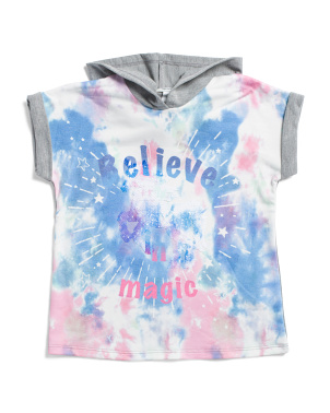 Little Girls Flip Sequin Unicorn Top