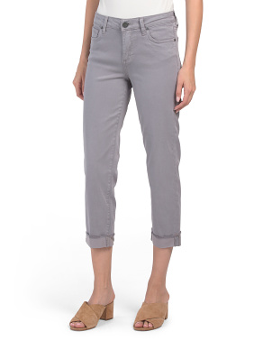 Amy Straight Leg Cropped Pants
