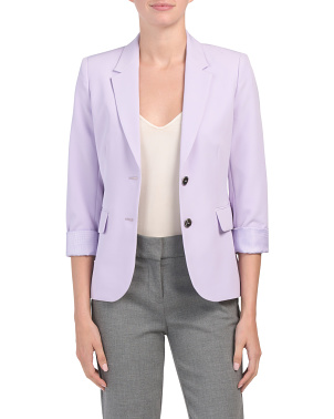 Petite Two Button Jacket