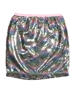 Big Girls All Over Sequin Skirt